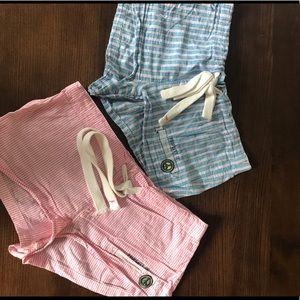2 pairs PINK Victoria Secret sleep shorts